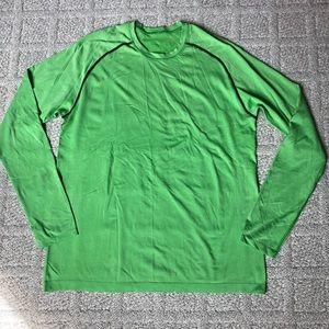 Lululemon Green Long Sleeve Shirt
